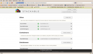 Screenshot of Stackable