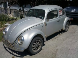 1964 Bug front view